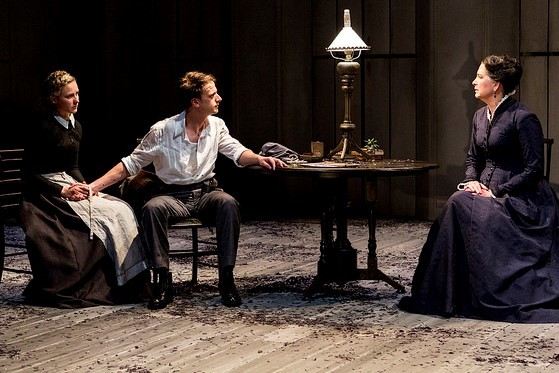 Ghosts, Belvoir St Theatre, Henrik Ibsen, Eamon Flack, Pamela Rabe, Robert Menzies, Tom Conroy, Taylor Ferguson, Colin Moody, theatre, Australian theatre, theatre adaptation, drama, tragedy, theatre review, black comedy, classic, play