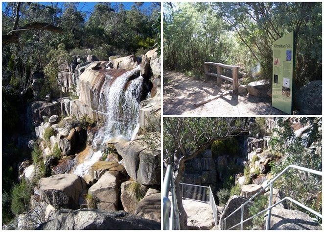 gibralter falls, canberra, ACT, waterfalls, staycation, views, western canberra, national parks,
