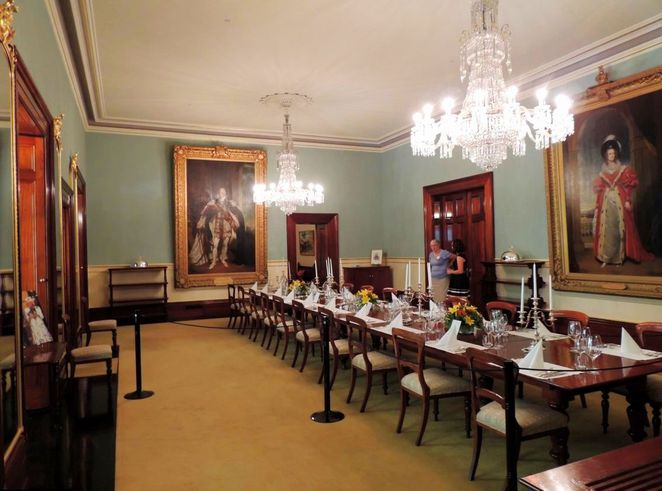 government house open day, government house, government house adelaide, open day, governor, free, government house dining room, chandelier lighting