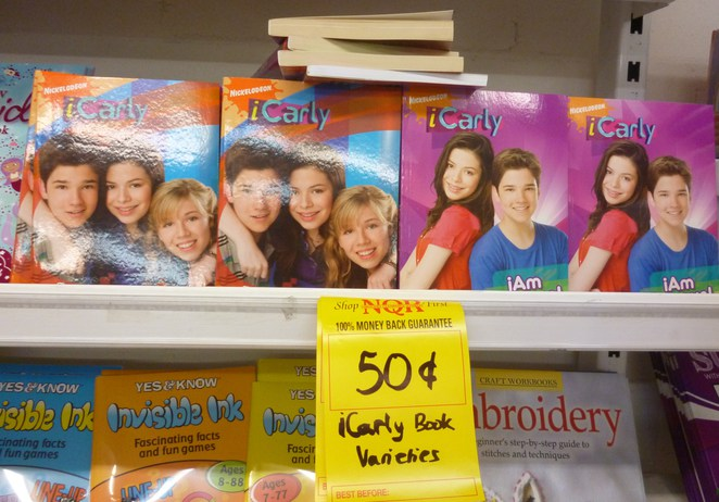 iCarly book gift teenage