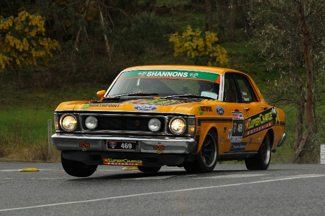 in car racing, targa adelaide, night stage, rally, car rally, classic, adelaide hills, the car rally, gt falcon