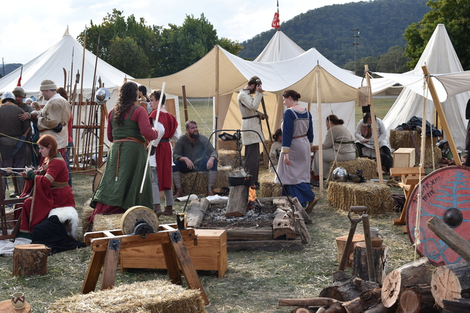 Ironfest, Lithgow, Medieval, 18th Century, cosplay, archery, leatherwork, costume, dress up, festival, fair