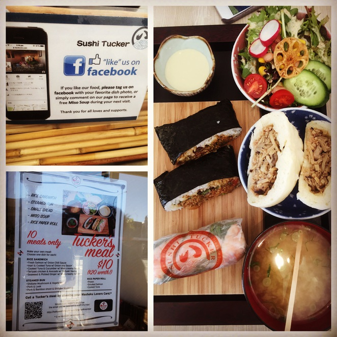 Japanese food, washokulover, Sydney eats, neutral bay, sushi tucker salad and sushi bar,
