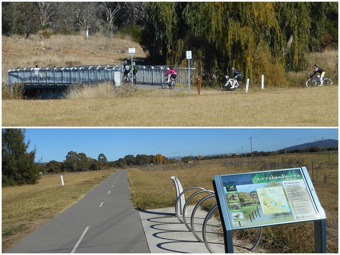 jerrabomberra wetlands, fyshwick, canberra, lake burley griffin, eastern loop, cycling paths, walking paths,
