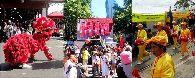 lunar new year celebrations in melbourne