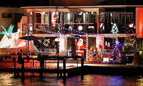 Mandurah Canal Christmas Lights Cruise