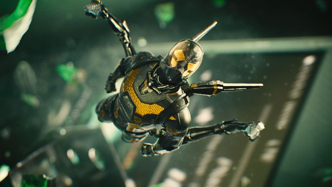 Marvel's Ant-Man - the infamous Yellowjacket