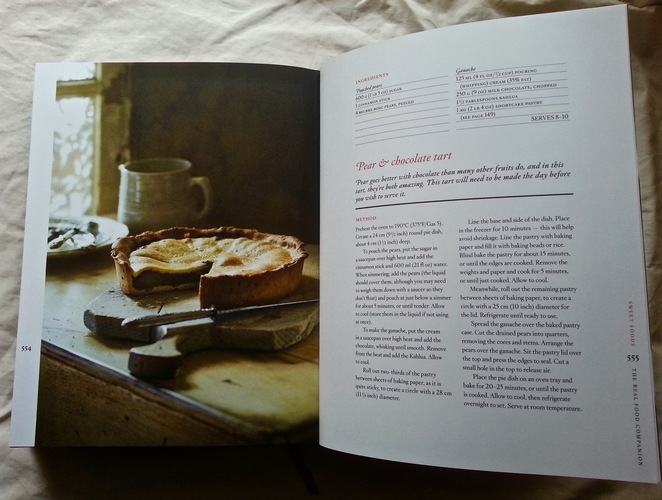 Matthew Evans, Real Food Companion, Gourmet Farmer, Pear and chocolate tart