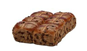 Bundraiser, Bakers Delight, Hot Cross Buns, Childrens Hospitals Australia, mocha chip hot cross buns