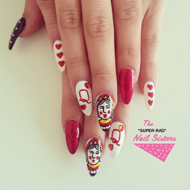 The super rad nail sisters melbourne nail art melbourne polish super rad nail sisters prinsesfo Images