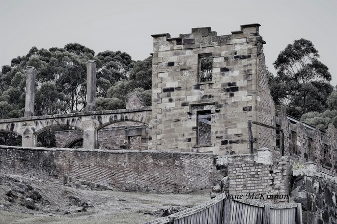 old stone buildings