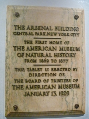 Arsenal Building at Central Park