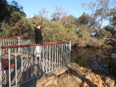 The Canning River Regional Park is a bird-watcher's paradise