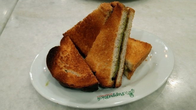 Papparich $3 Side Dishes, Toast Hainan Sandwich with Butter and Kaya, Adelaide