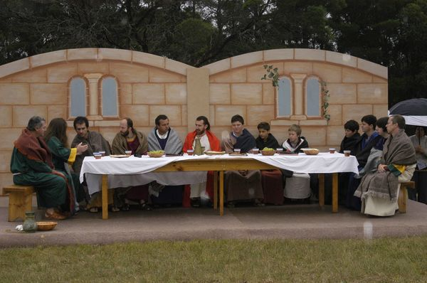 A Passion Play at the Shrine of Our Lady of Mercy