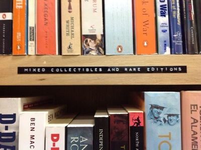 rare Editions at Brown and Bunting Booksellers