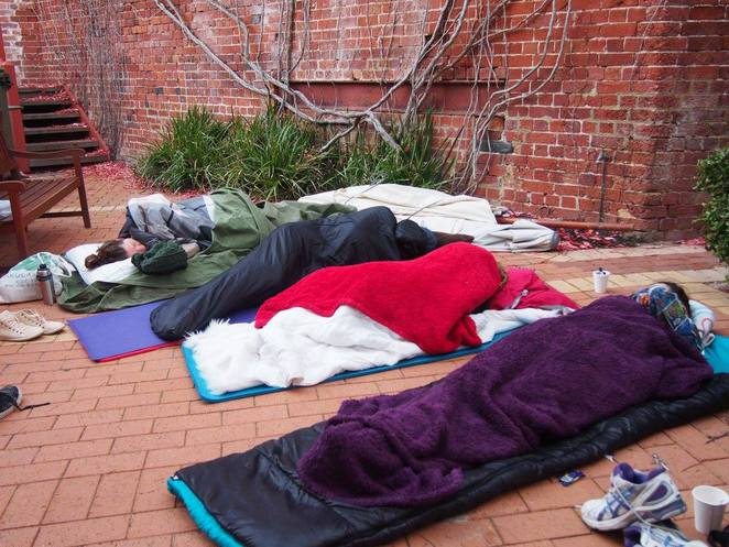 Sleep Out Under The Stars 2017, St Patrick's Community Support Centre, University of Notre Dame, homelessness Perth, Perth fundraisers, Fremantle fundraisers