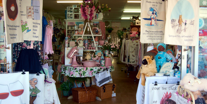 One of several shops in Stanthorpe
