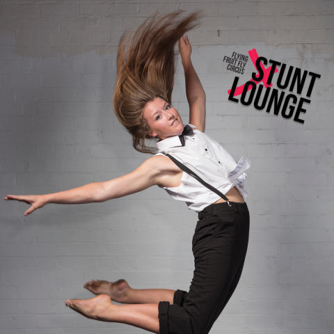stunt Lounge, Flying Fruit Fly Circus, MICF, Melbourne International Comedy Festival, Arts Centre Melbourne, Fairfax Studio