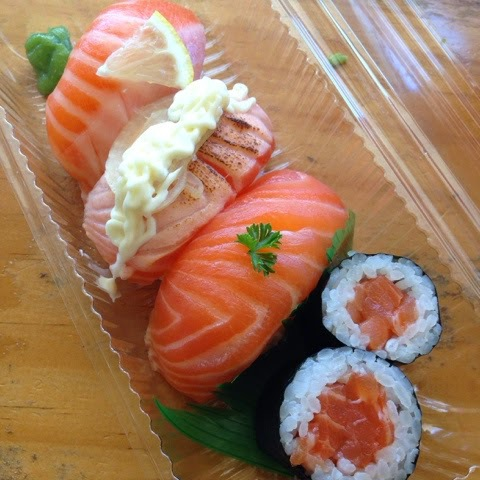 Sushi Paradise, Cairns, GMV, Travel, Salmon, Takeaway, lunch, Cheap