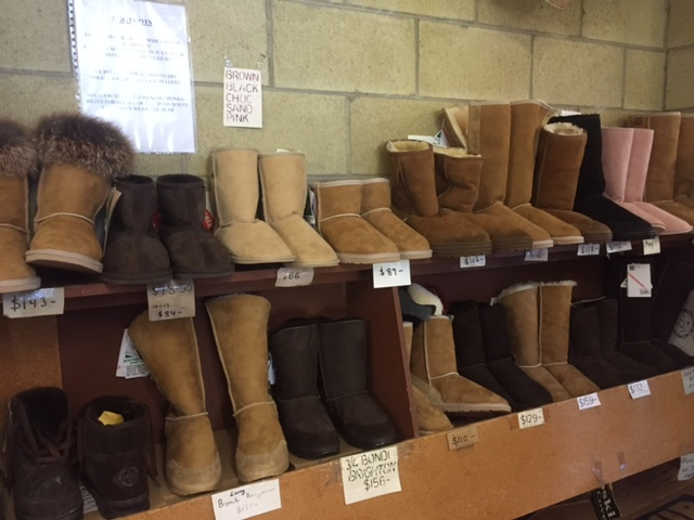 Ugg Boots, Mocassins, Slippers, Akubra Hats, Belts