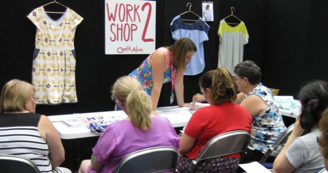 Workshop at Craft Alive