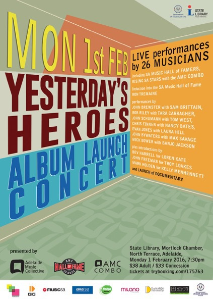Yesterday's Heroes Mixmasters Sessions Album and Documentary Launch