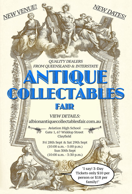 Albion Antiques & Collectibles Fair Event