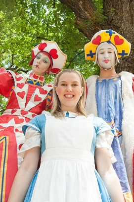 alice in wonderland australian shakespeare company