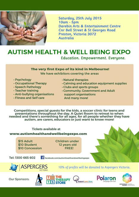 Autism Heath and Wellbeing Expo