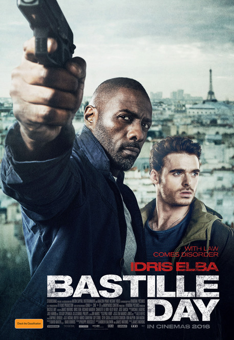 Bastille Day, Bastille Day film review, Bastille Day movie review, film reviews, movie reviews, new releases, cinema, movies