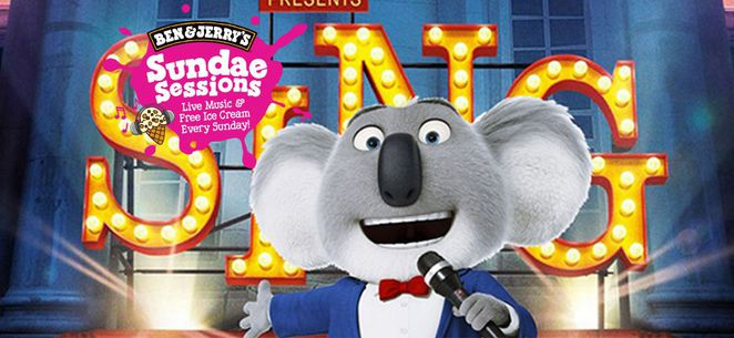 ben and jerrys outdoor cinema, canberra, school holidays, january 2017, summer,