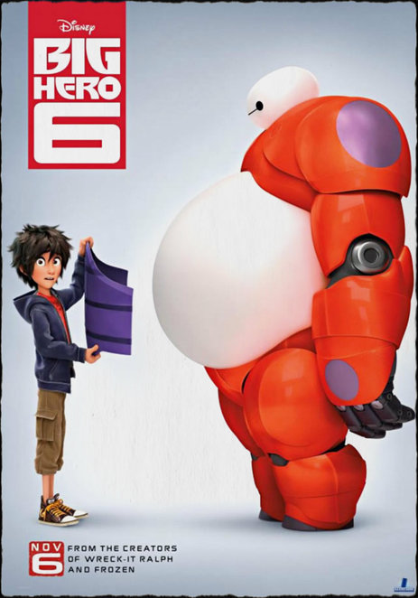 big hero 8, film reviiew, movie review, disney