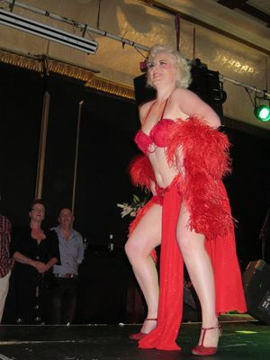 Burlesque, Lady Luck Festival, Baroque Bar, Carrington Hotel, Katoomba, Blue Mountains