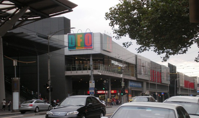 dfo shopping outlets melbourne south wharf spencer street