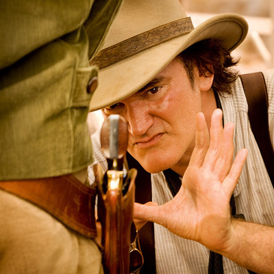 Django Unchained writer and director Quentin Tarantino