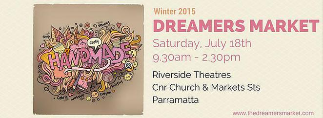 Dreamers Market, Winter, Artisan, Handmade, Australian, Art, Craft, Creativity, Riverside Theatres, Parramatta