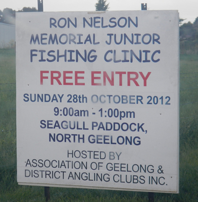 Ron Nelson Memorial Junior Fishing Clinic 2012