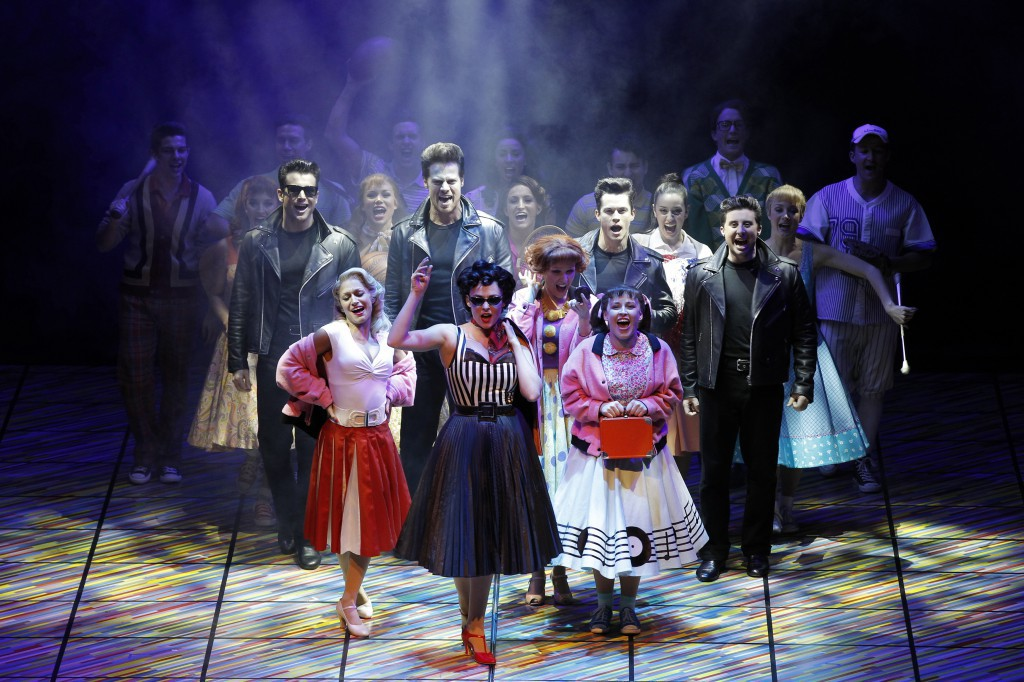 Grease the musical slides into adelaide in august 2014 image courtesy