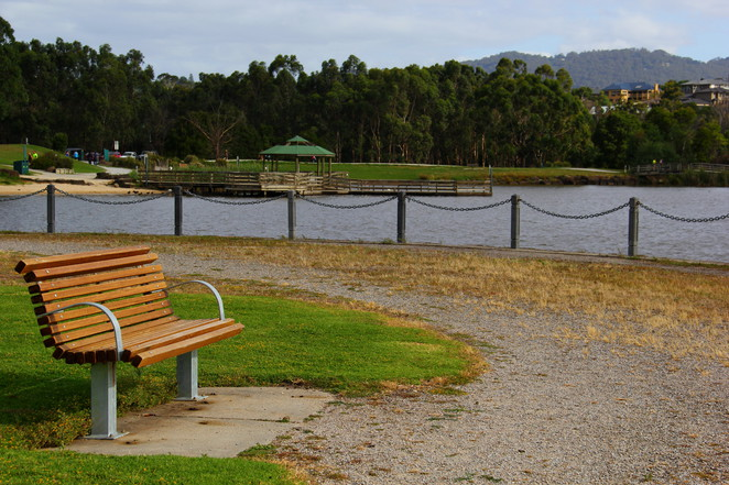 Great fishing spots with easy access.