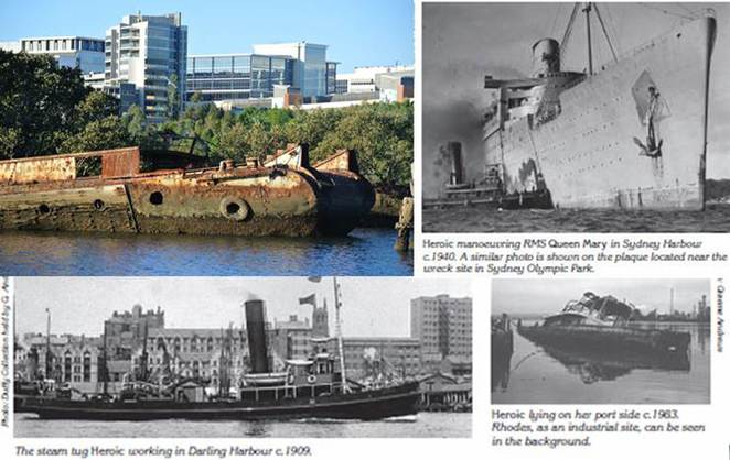 Heroic Shipwrecks of Homebush Bay
