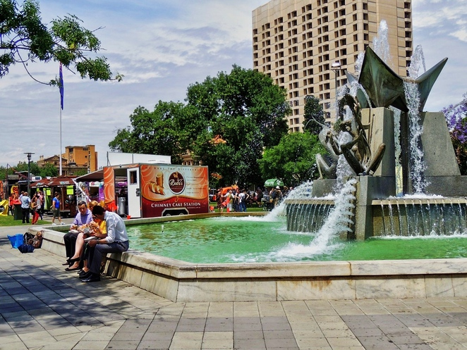 in adelaide, food truck, food festival, free things to do in adelaide, family entertainment, fork on the road, activities for kids, splash adelaide, victoria square