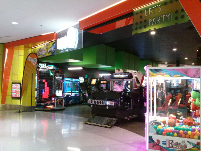 iPlay arcade, Belconnen Westfield, Canberra, family friendly.