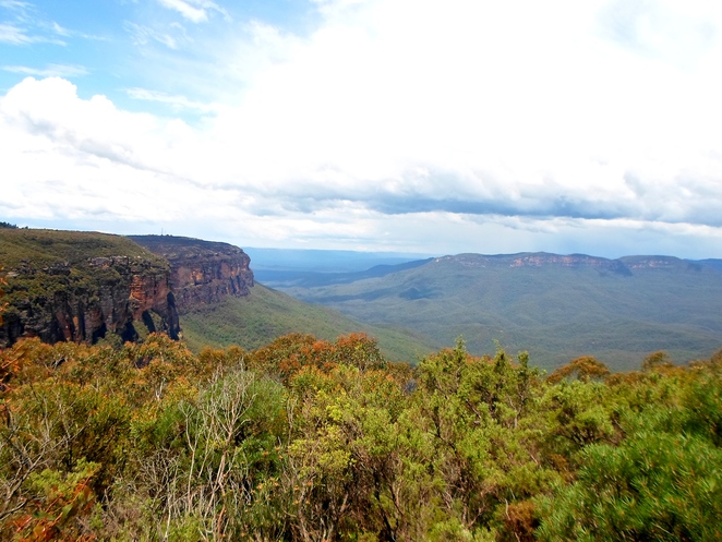 jamison lookout, jamison lookout wentworth falls, jamison valley, wentworth falls lookouts, blue mountains lookouts