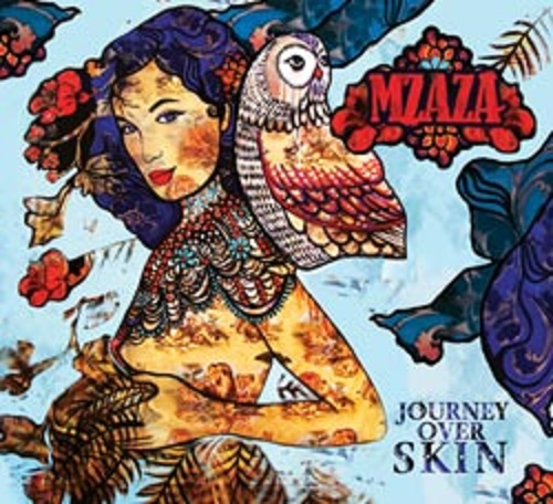 journey over skin, sarah hickey, mzaza, album, world music, Brisbane
