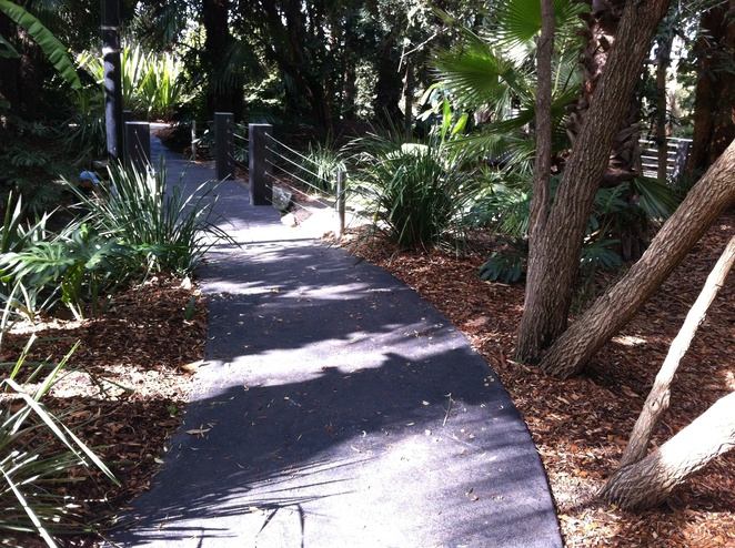 Kokoda Track Memorial Walkway-boardwalk