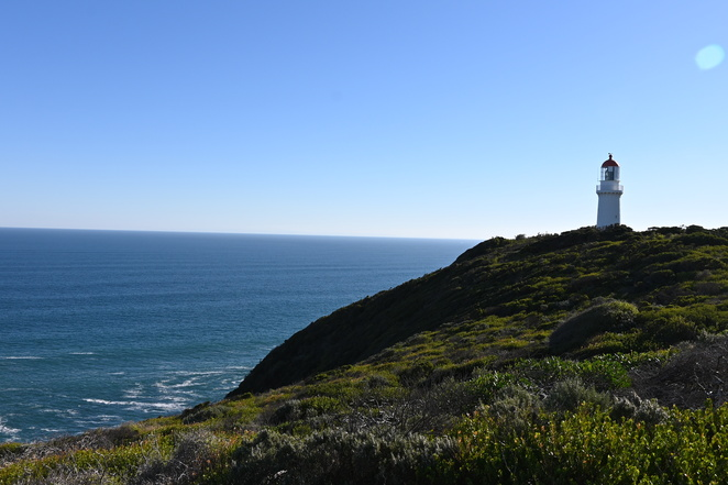 Lovely long walks to rocks and Cape Schanck Lighthouse