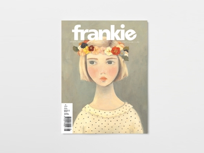 magazine, frankie, quirky, pretty, art, photography, craft, music, travel,