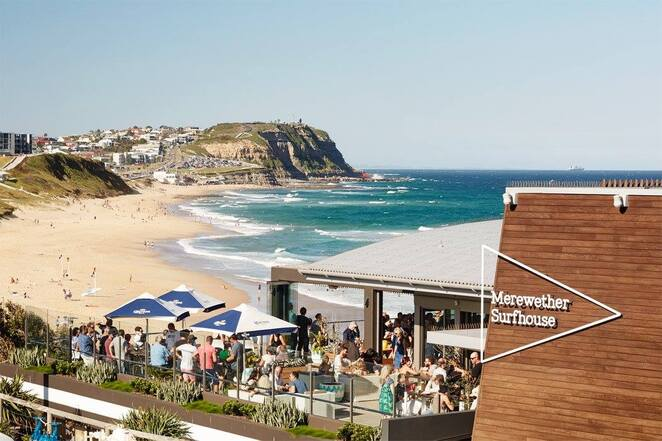 merewether surfhouse, newcastle, functions, events, christmas parties, weddings, 2019, 2020, 2021, views, beach, xmas,