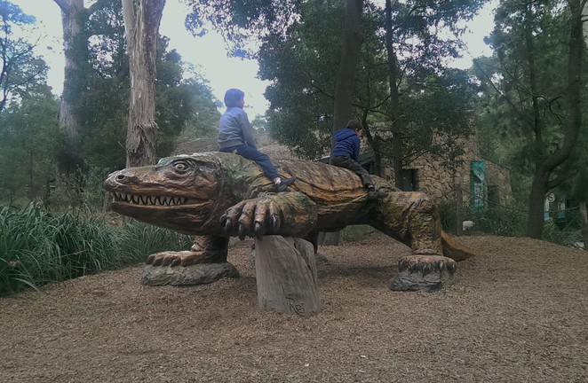 Nature play at Healesville